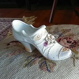 Vintage Victorian shoe numbered